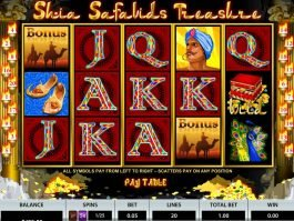 A picture of the casino free slot Shia Safavids Treasure