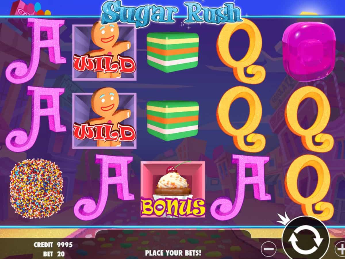 Sugar Rush Game Online Free