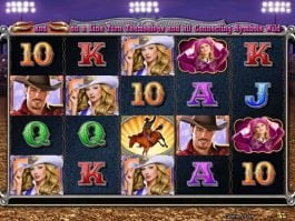 A picture of the slot game Wild Rodeo