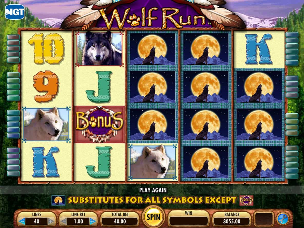 Online Slot Machine Fun Wolf Run