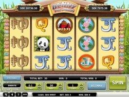 Casino slot machine Benny the Panda with no registration
