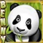 A Benny the Panda ingyenes nyerőgép jackpot szimbóluma