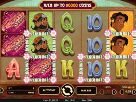A picture of the online free slot Bollywood Reels