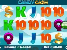Slot machine Candy Cash online with no deposit