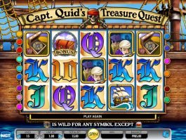 Capt. Quid's Treasure Quest online free slot