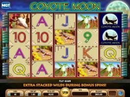 Coyote Moon free slot game with no deposit