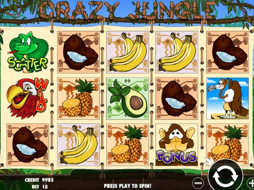 Crazy jungle slot machine online pragmatic play Akçaabat