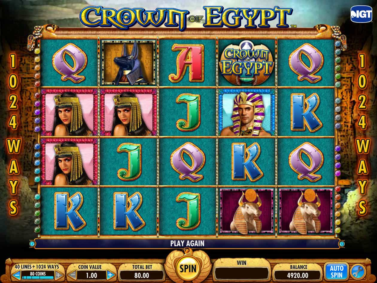 Spiele Crown Of Egypt - Video Slots Online