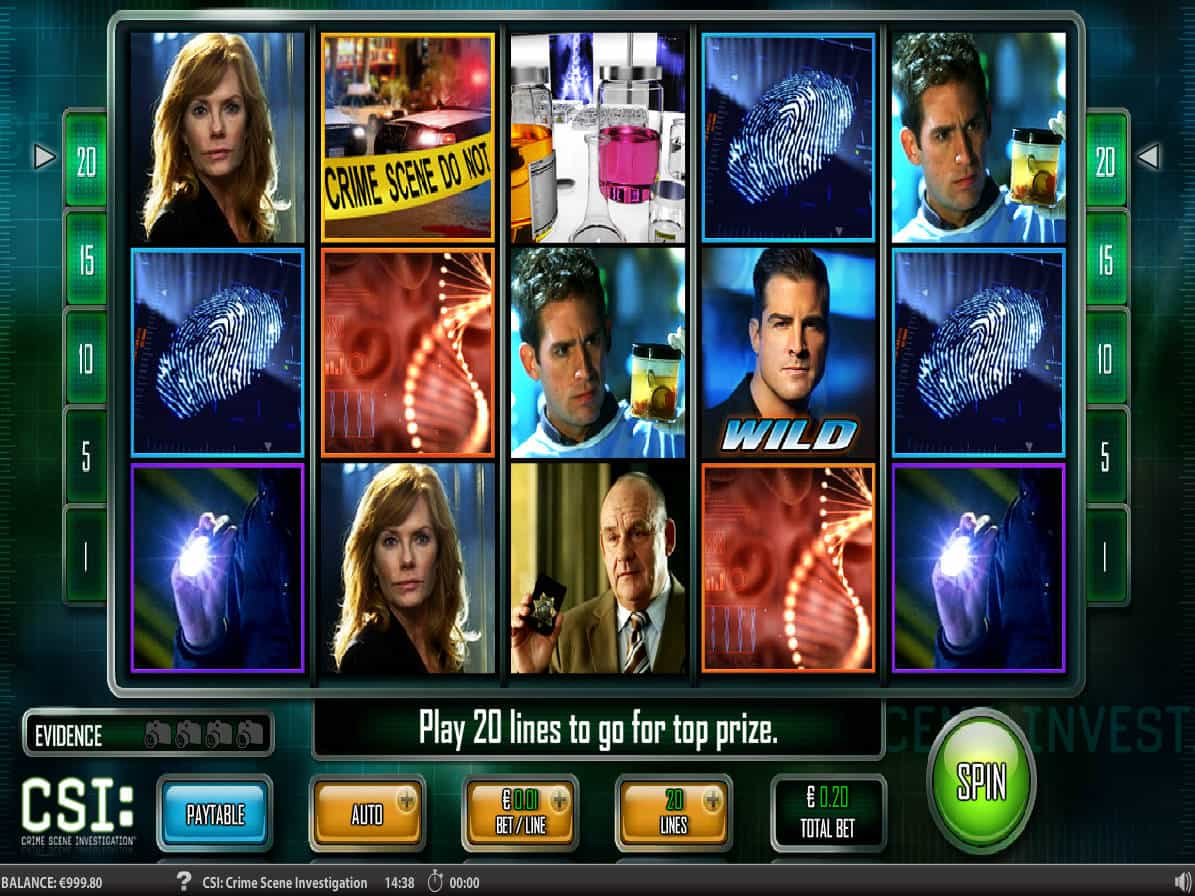 Csi Slot Game
