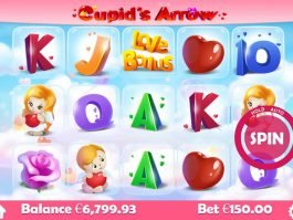 No deposit game Cupid's Arrow