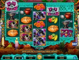 Day of the Dead free slot game