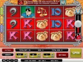 Devil's Advocate online free slot