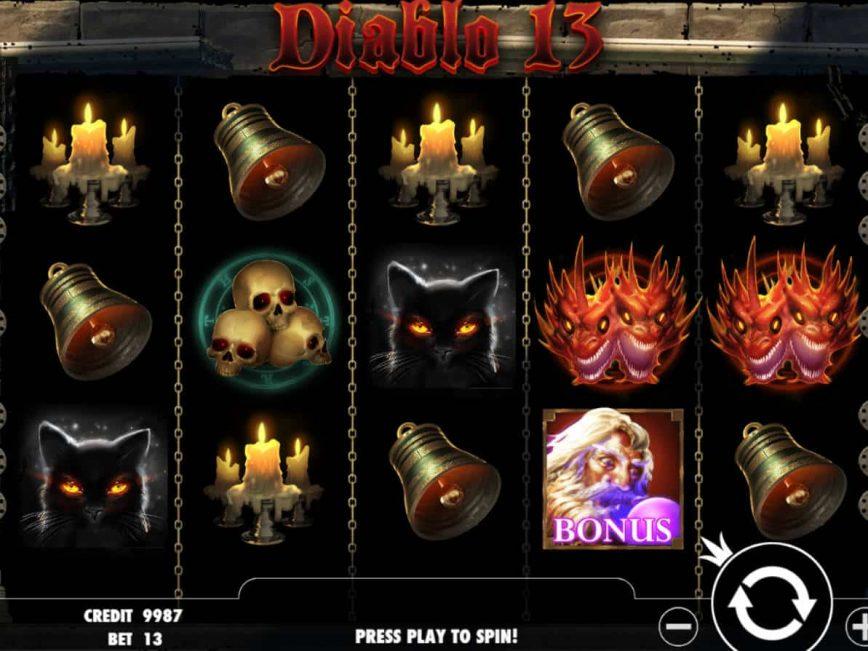 Diablo 13 casino slot with no registration