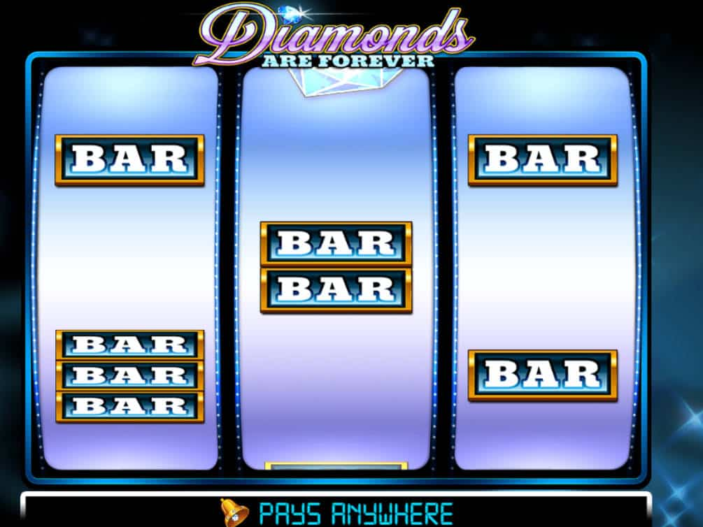 The Diamonds are Forever 3 Lines slot offers a gaming experience inspired by the look and feel of the slot machines in the old days.With an amazing maximum payout of up to 3,x your stake, this online slot game can turn you into an international spy ready to go on a dangerous mission to recover the stolen diamonds.Land 3 Lucky 7 Symbols on.