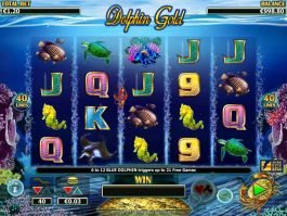 Slot machine for fun Dolphin Gold with no deposit