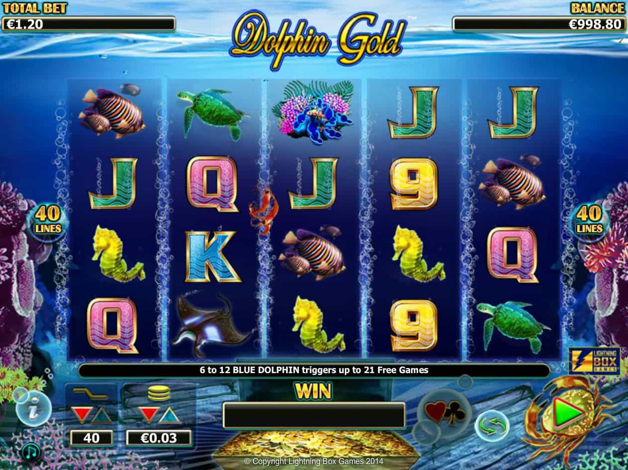 Dolphin Gold Slot Machine Game to Play Free