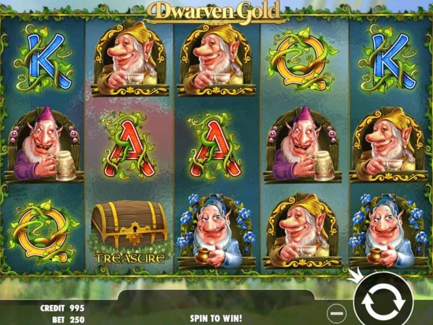 Dwarven Gold casino slot machine