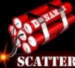 Symbol scatter - Fandango's free casino game