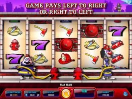 Slot machine with no deposit Firehouse Hounds