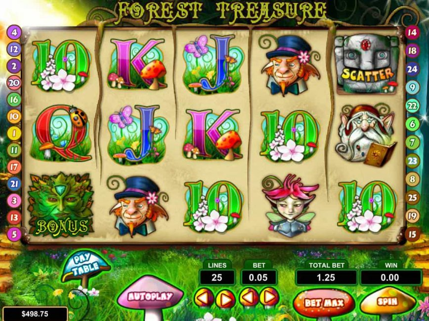 Forest Treasure free slot with no deposit