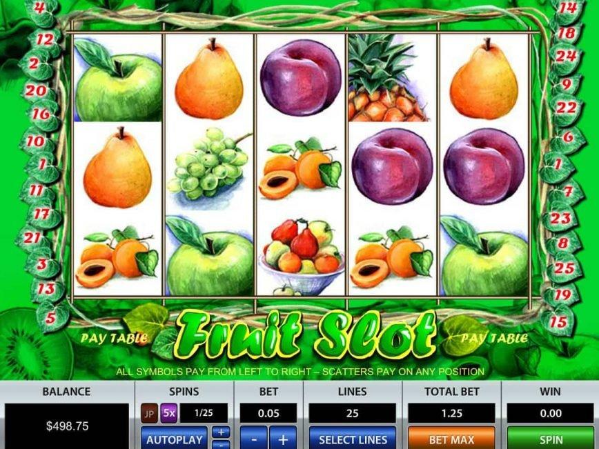 No deposit game Fruit Slot online