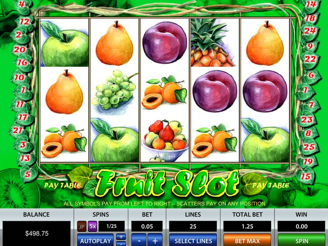 Play fruit slots free online tf2 roulette site
