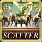 Scatter symbol of Glorious Rome online slot