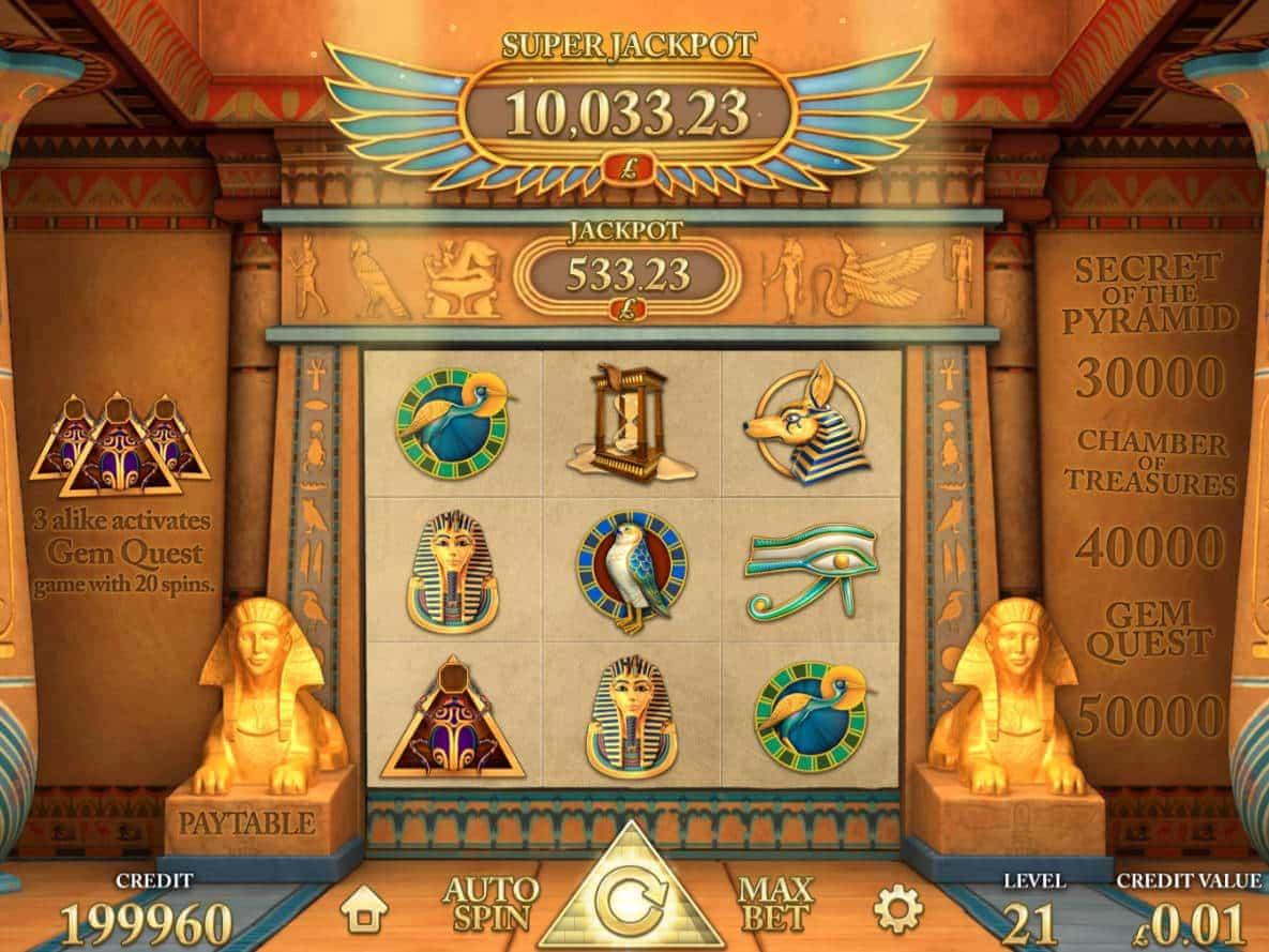 Golden pyramids slot machine download free