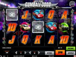 No deposit game Gumball 3000 for free
