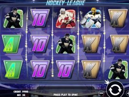 Play free casino game Hockey League for fun