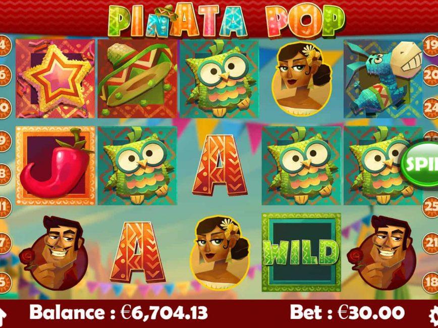 Play free casino game Pinata Pop