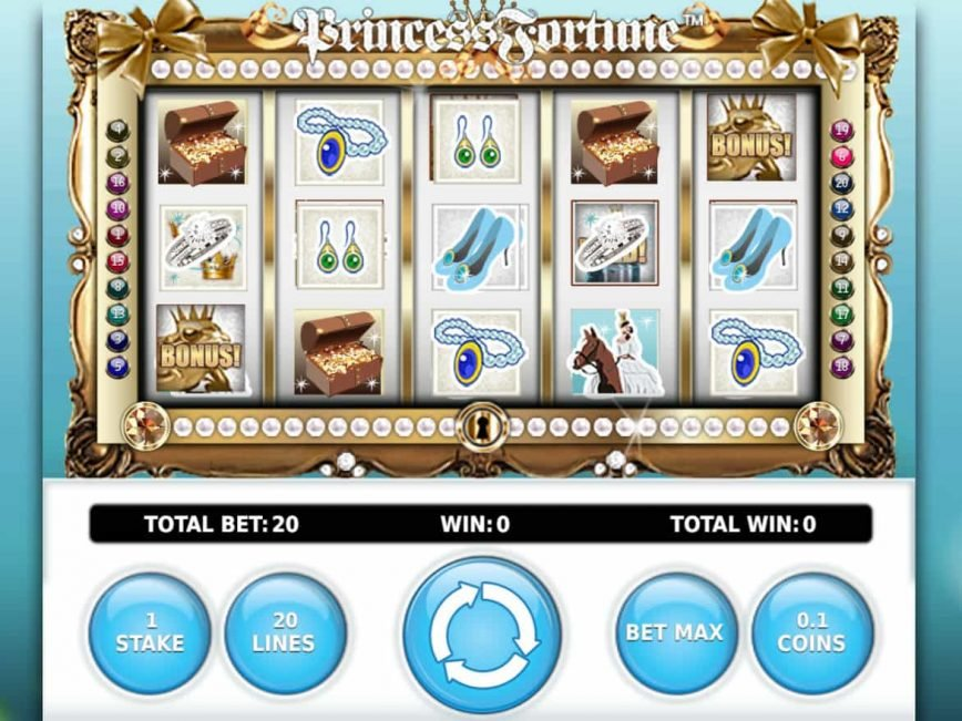 Play online slot game Princess Fortune