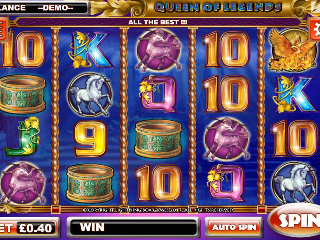 Queen of Legends Slots - Play Online or on Mobile Now