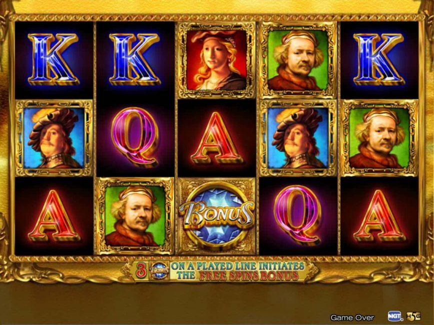 Rembrandt Riches free online slot