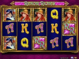 A picture of the casino slot machine Renoir Riches