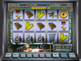 Play online casino game Resident II
