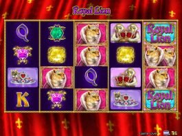 Slot machine with no deposit Royal Lion