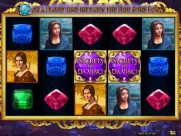 Online free slot game Secrets of Da Vinci for fun