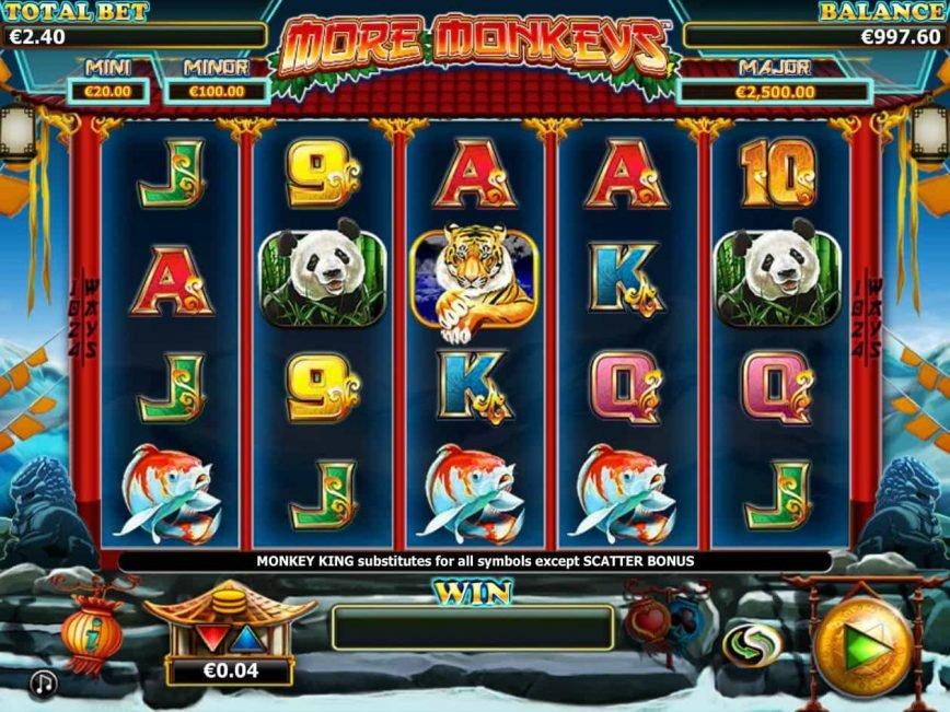 Stellar Jackpot with More Monkeys free slot machine