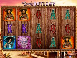 Free online slot The Lovely Outlaws with no registration