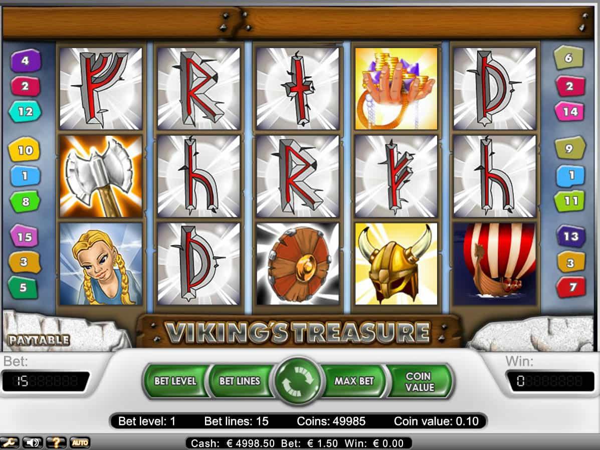 Vikings Treasure Slot Machine