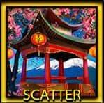 Scatter de la máquina tragaperras de casino Geisha
