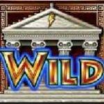 Symbol Wilda zdarmowej gry hazardowej Zeus