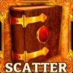 Symbol scatter of Amun's Book online free slot