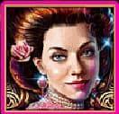 Wild symbol of slot game English Rose