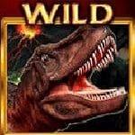 Symbol wild of Mighty Rex casino free slot