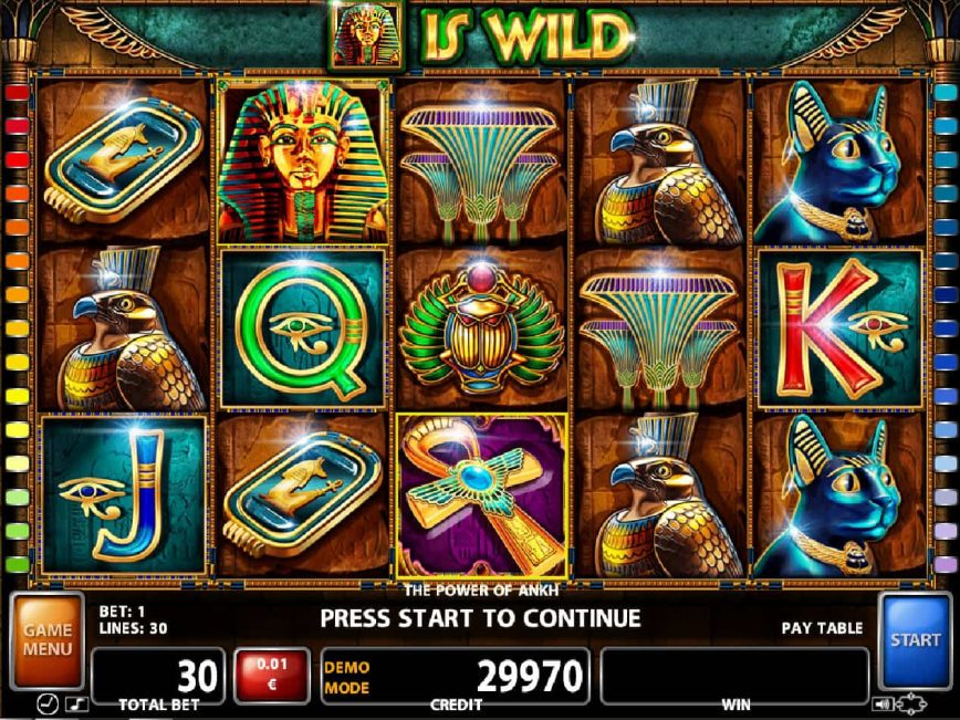 Play free slot machineThe Power of Ankh
