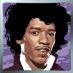 Symbol wild of Jimi Hendrix online free slot