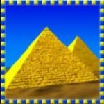 Symbol scatter of Queen of the Nile online free game
