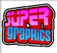 Super Graphics Upside Down - scatter symbol